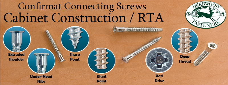 Confirmat Screws