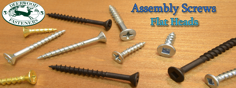 Assembly Screws Flat Head Pan American Screw